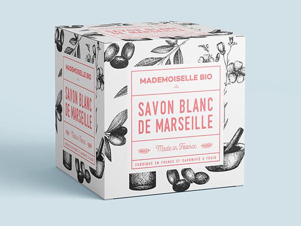 Savon de marseille blanc – Mademoiselle Bio