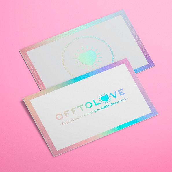 Offtolove – Identité visuelle